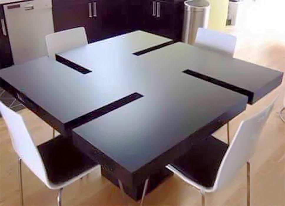 L Histoire De La Table Ikea En Forme De Croix Gamm 233 E