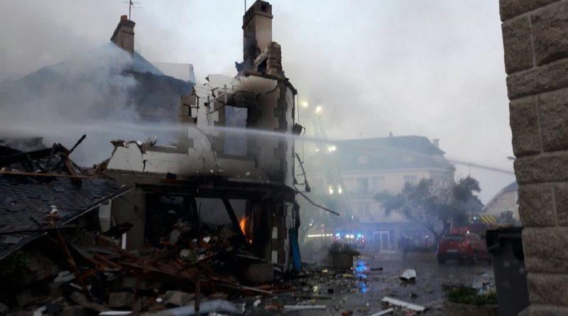 Violente explosion de gaz à Quiberon